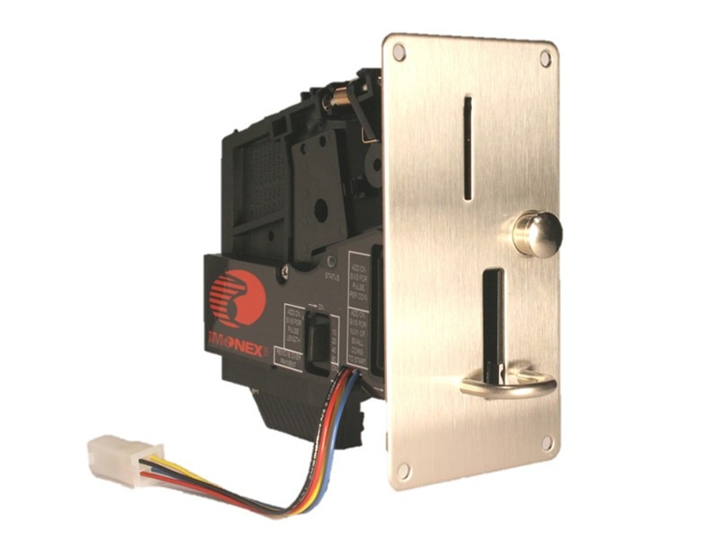 Imonex acceptors on your Ipso washers - Coin Acceptor