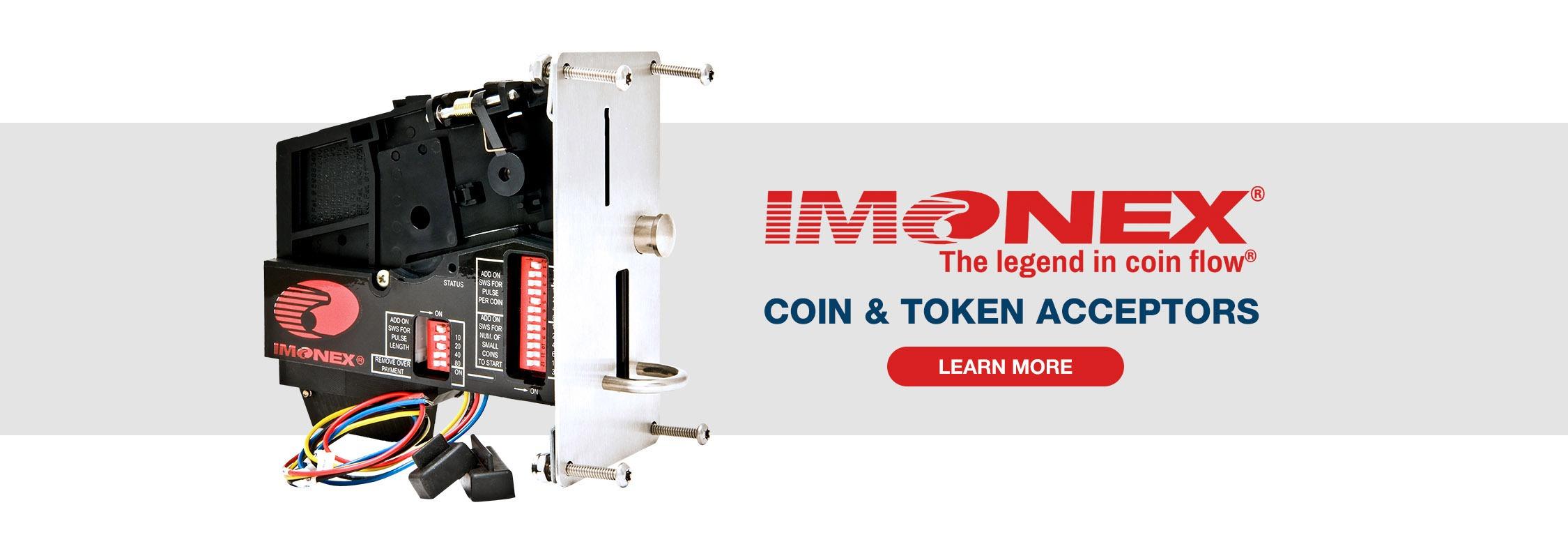 Imonex Coin & Token Acceptors
