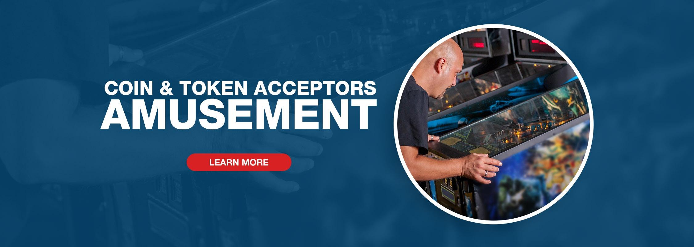 Imonex Coin & Token Acceptors - Amusement Image