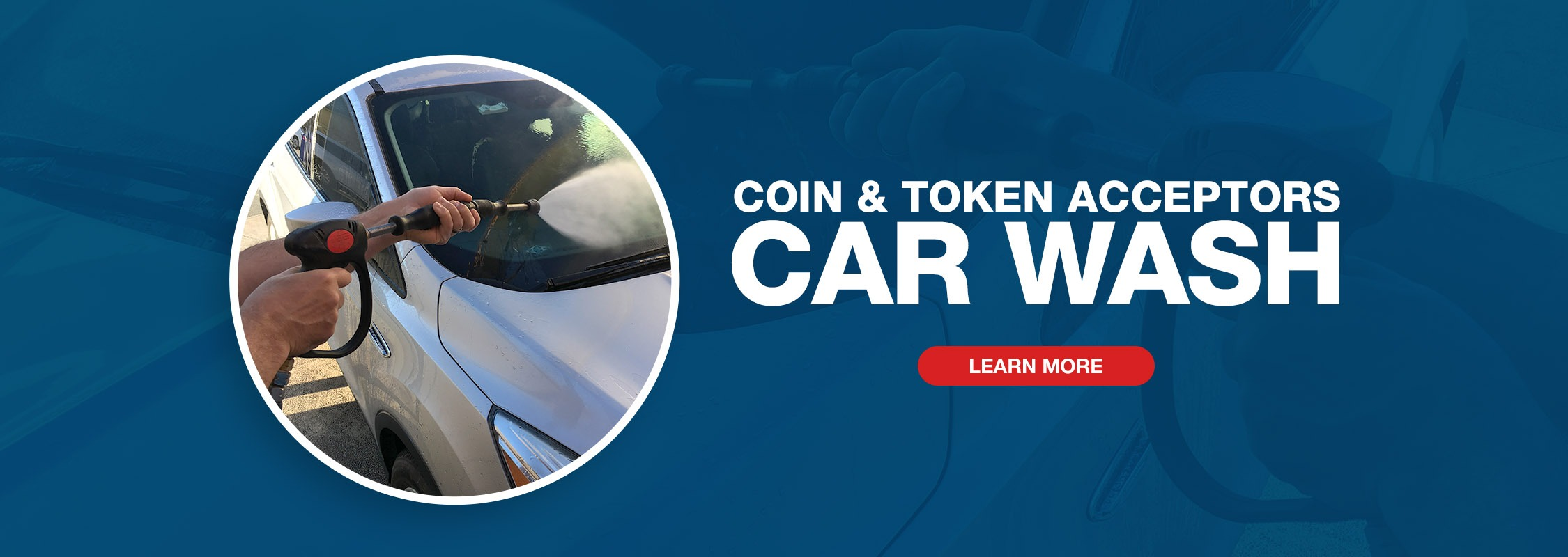 Imonex Coin & Token Acceptors - Car Wash Image