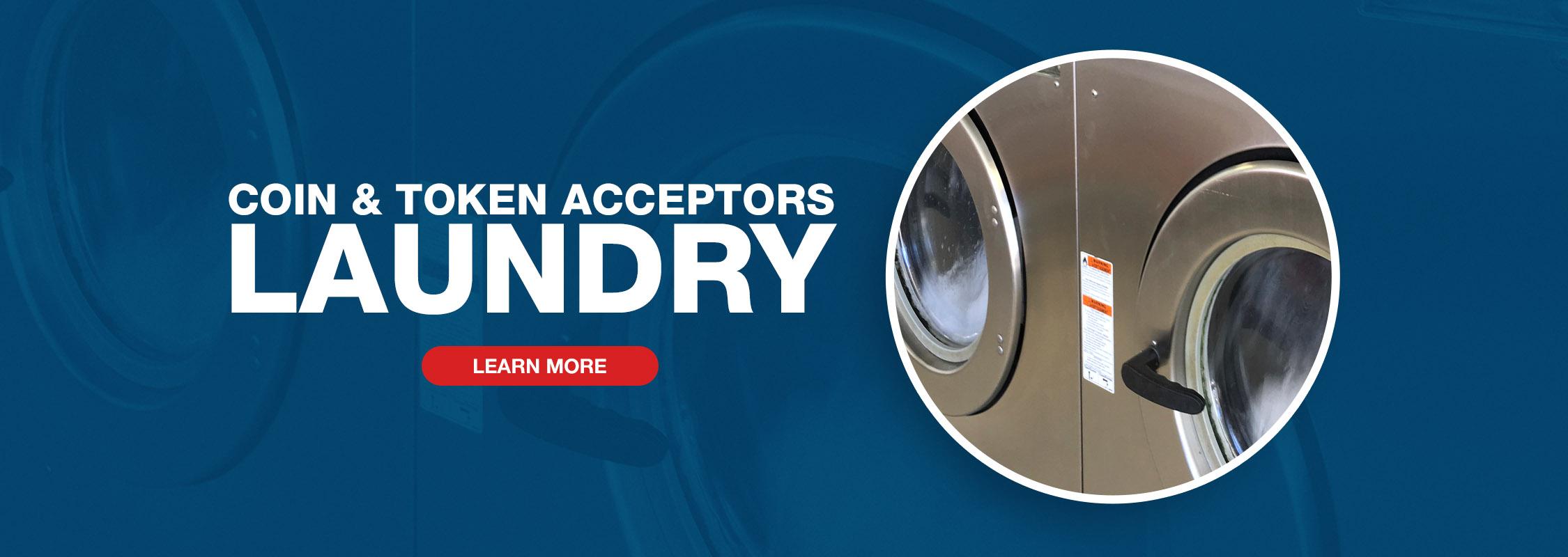 Imonex Coin & Token Acceptors - Laundry Image