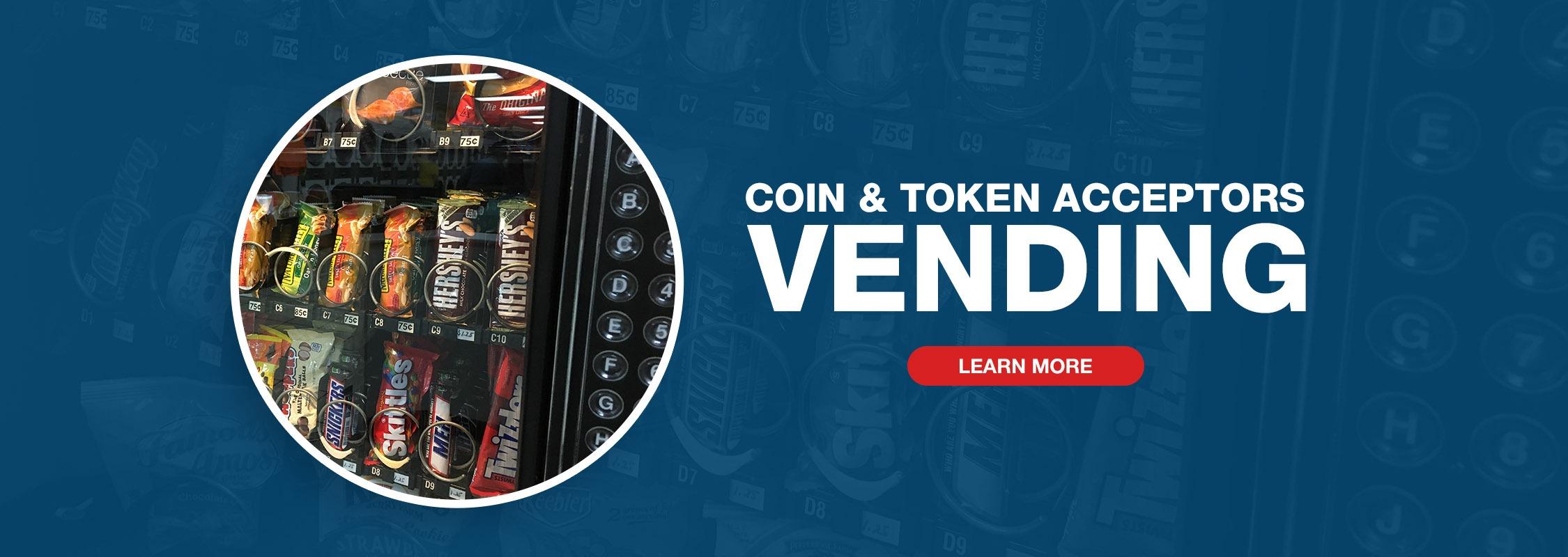 Imonex Coin & Token Acceptors - Vending Image