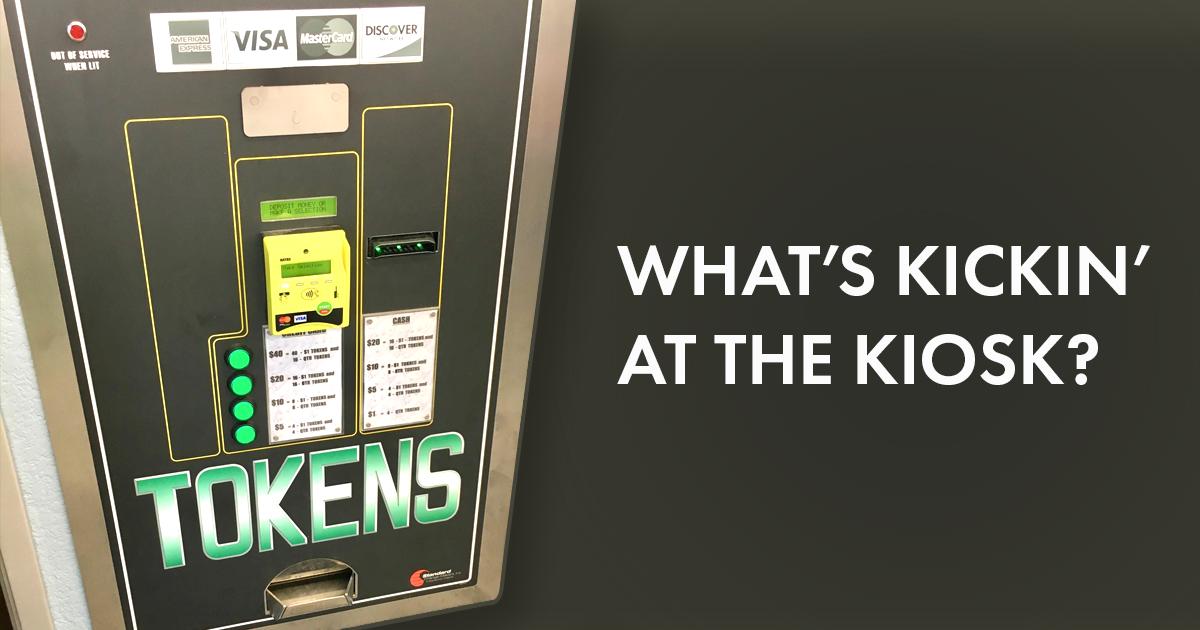 kickin at the kiosk